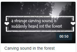 Carving Sound in the Forest