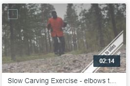Holding the box - elbows to the side