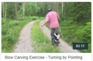 Turning by pointing